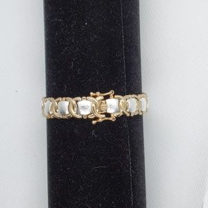 Jewelry - 925 Silver and Gold Clad Bracelet